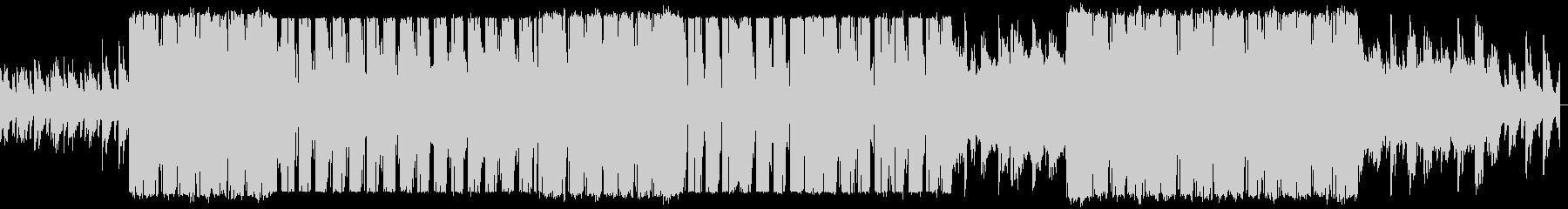 アコギとストリングスが印象的なラブソングの未再生の波形