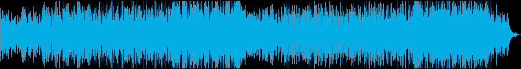 爽やかでおしゃれ、ピアノのフュージョンの再生済みの波形