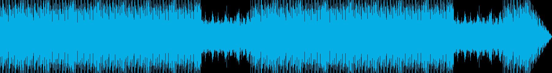 イベント用に使える王道でカッコイイBGMの再生済みの波形