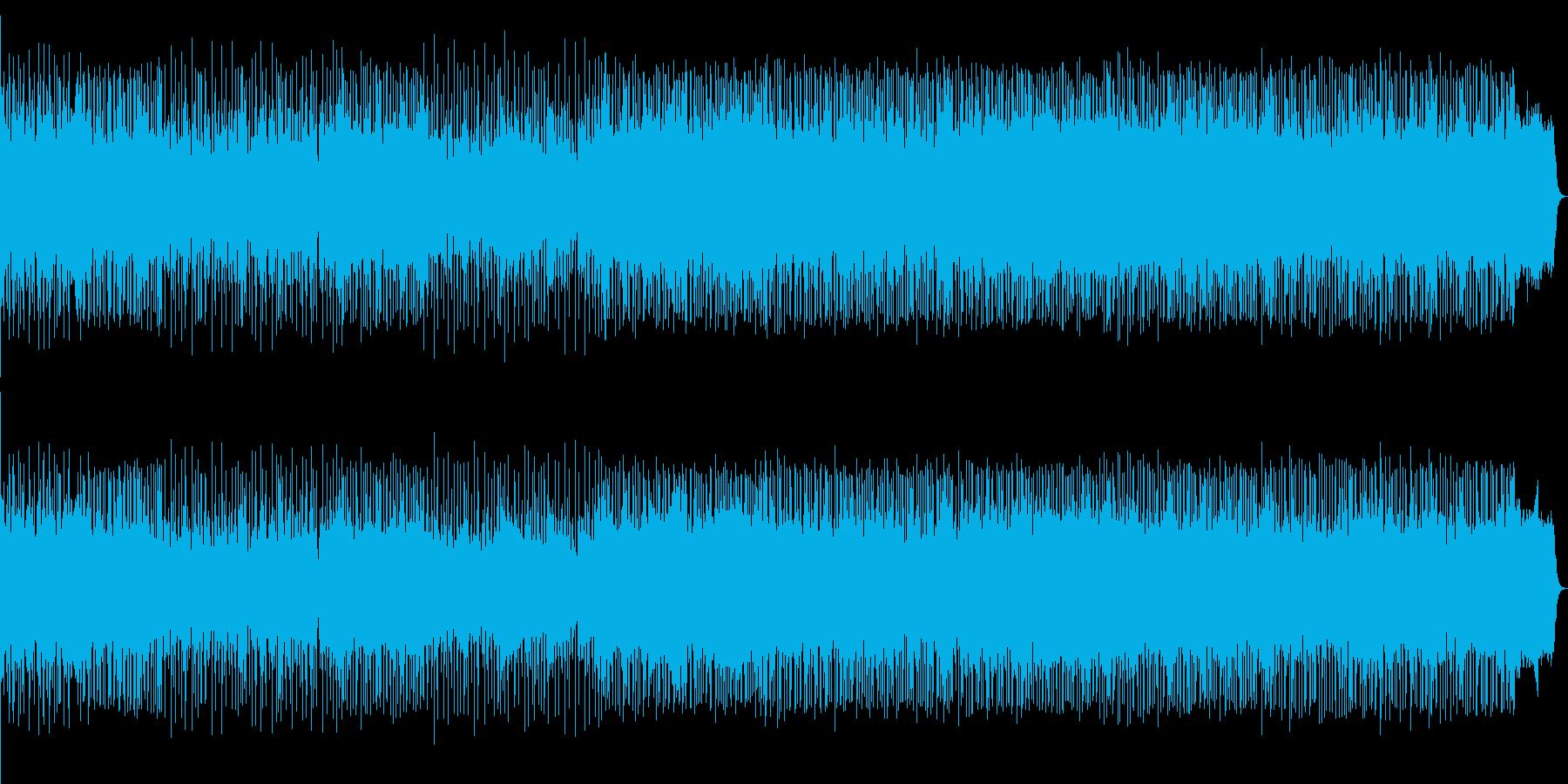 別れと出会い描写したポップサウンドの再生済みの波形