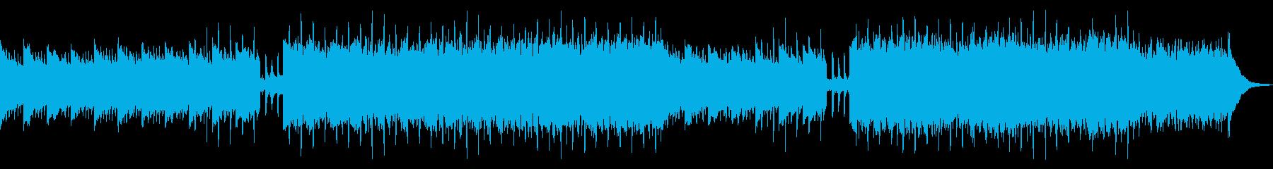 企業VP、CM05。ピアノ、ほのぼのの再生済みの波形