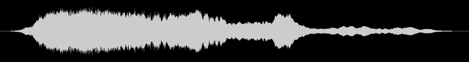 中空リングの未再生の波形