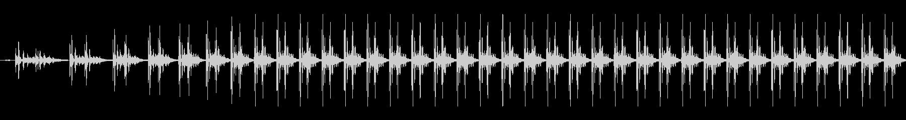 ハートビートの高速化の未再生の波形