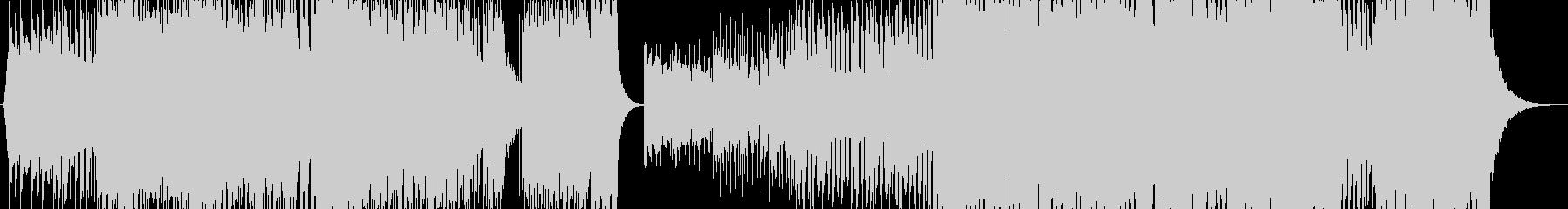 威風堂々EDM Verの未再生の波形