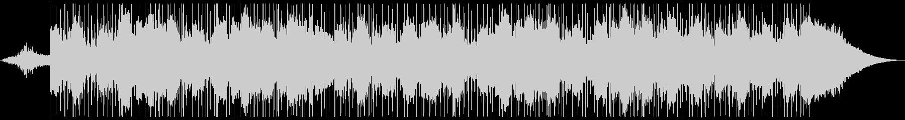 神秘的な美しいピアノバラードの未再生の波形