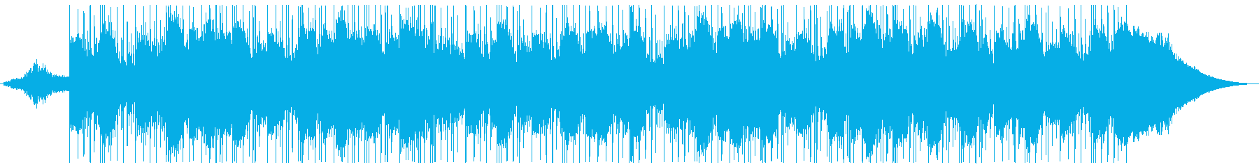 神秘的な美しいピアノバラードの再生済みの波形