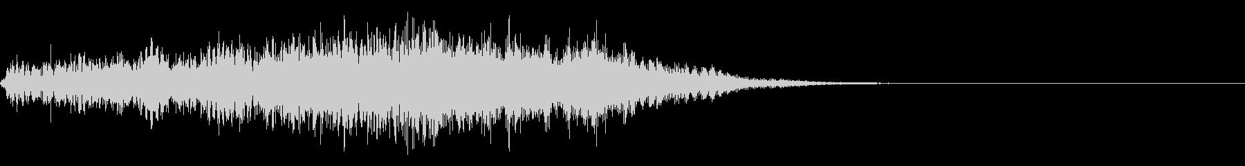 ホラー系導入音_その6の未再生の波形