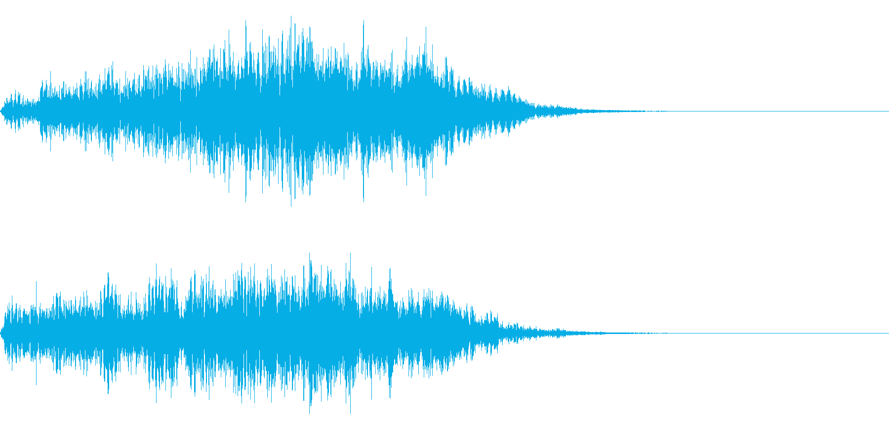ホラー系導入音_その6の再生済みの波形