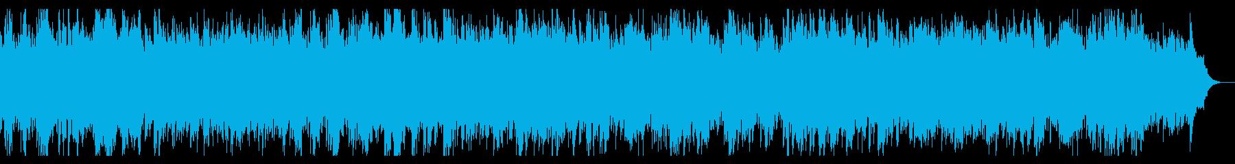 切なくダークなアルペジオとストリングスの再生済みの波形