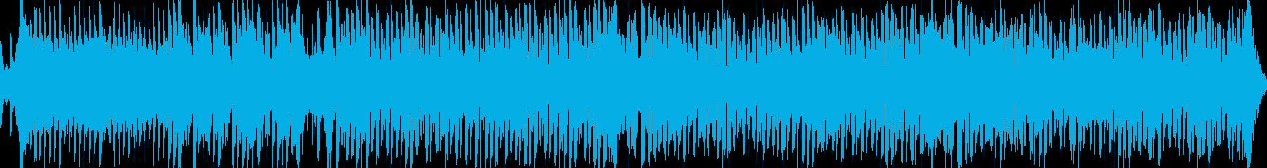 夏を感じる爽やかな和風ループBGMの再生済みの波形