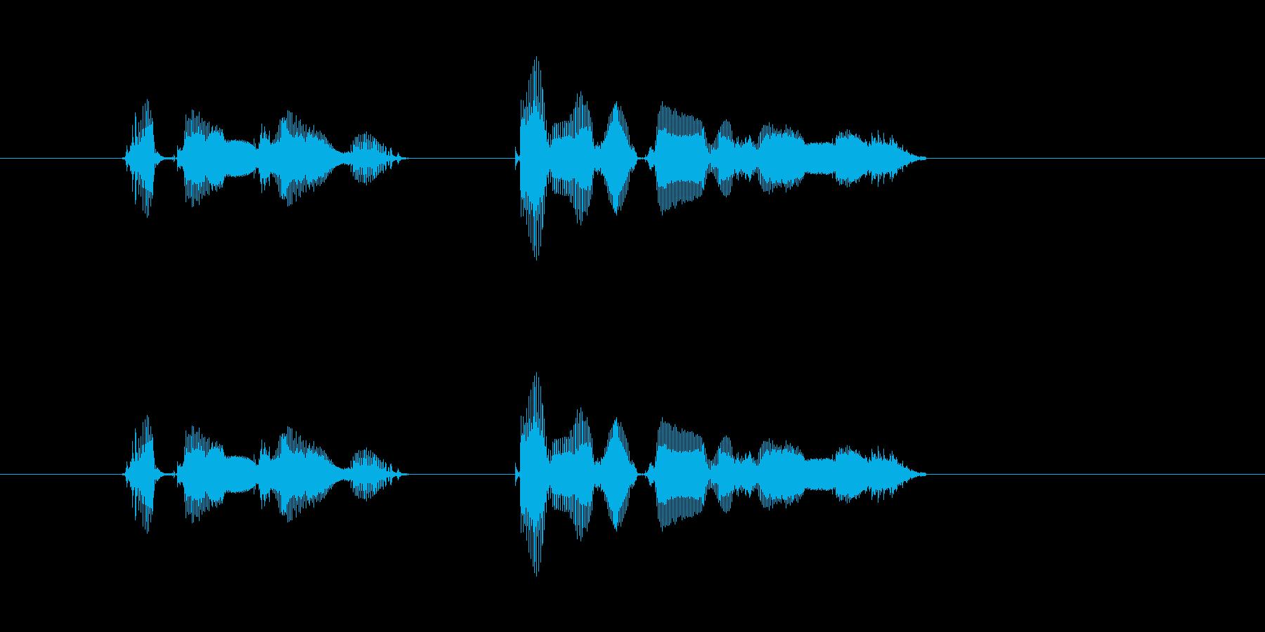 【行事・イベント・挨拶】お誕生日 おめ…の再生済みの波形