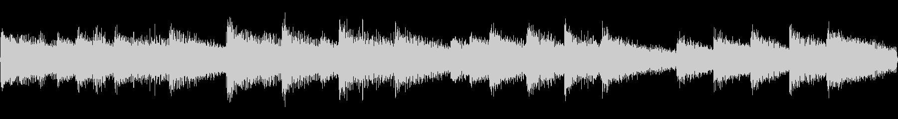 儚い雰囲気のピアノソロジングルの未再生の波形