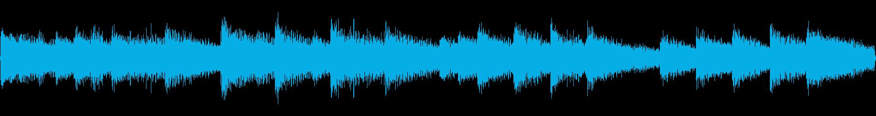 儚い雰囲気のピアノソロジングルの再生済みの波形