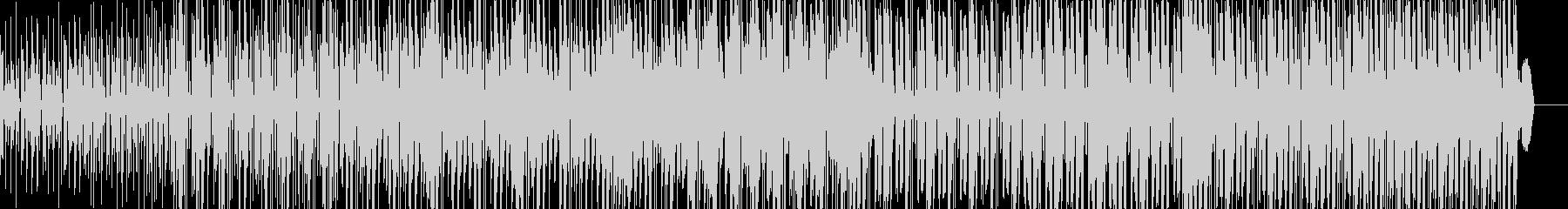 近未来的テクノポップスの未再生の波形