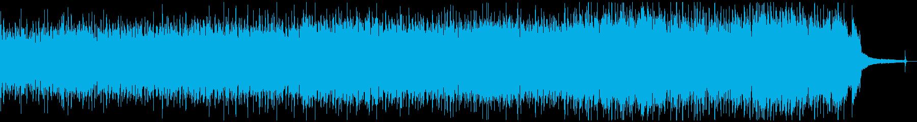 バイオリンの伝統的なフォークミュージックの再生済みの波形