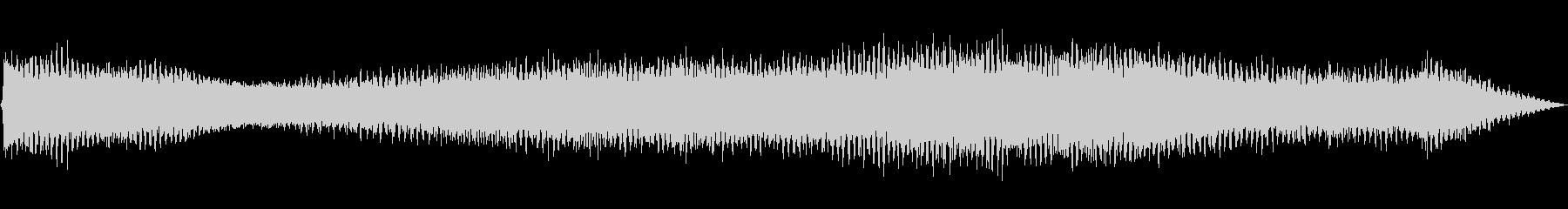 ミンミン(セミの鳴き声)の未再生の波形