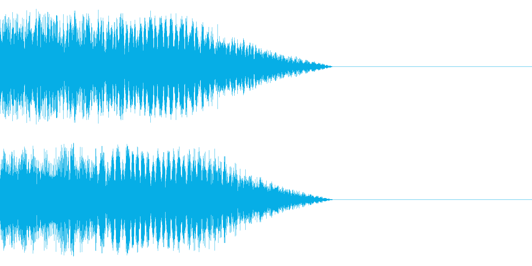 不思議系(電子的)の再生済みの波形