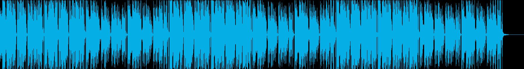 キラキラしたEDM、フューチャーベースの再生済みの波形