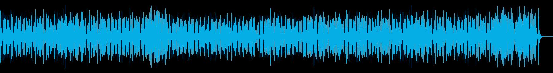 わくわくハッピーなオールドジャズピアノの再生済みの波形