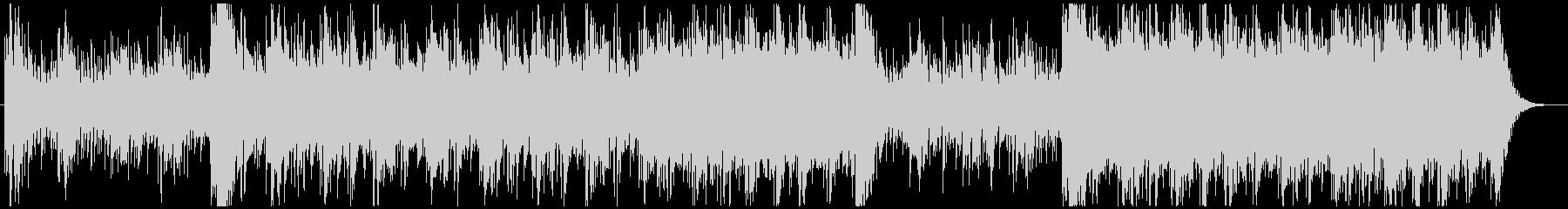 エネルギッシュなトレーニングBGMの未再生の波形