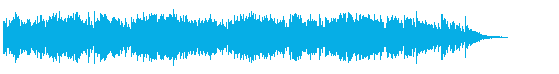 エキゾチックなチャイニーズ風の再生済みの波形