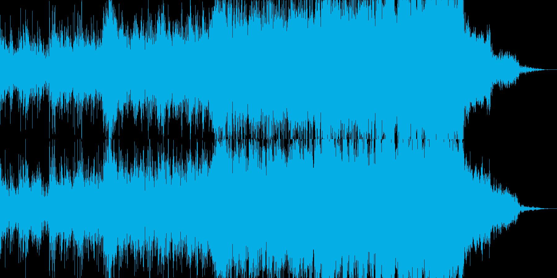 【映画シーン】決めポーズまでのエキサイトの再生済みの波形