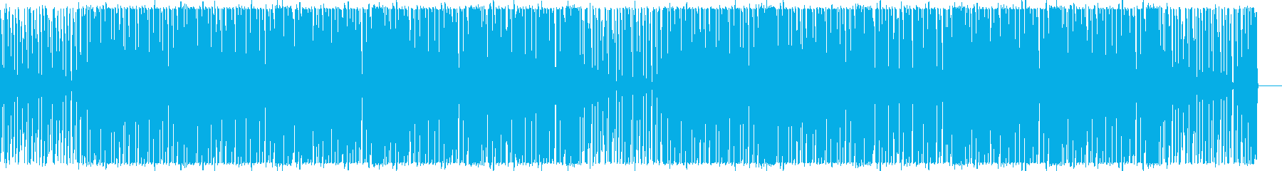 爽やかな夏をイメージしたBGMの再生済みの波形