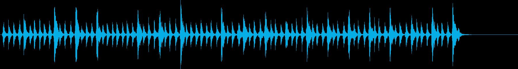 リズム、ロング、ミュージック、パー...の再生済みの波形