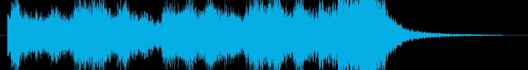 ジングル - エキサイトシーンの再生済みの波形
