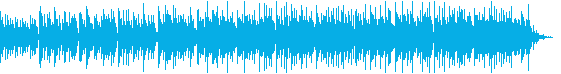フレンドリーでポジティブな電子トラ...の再生済みの波形