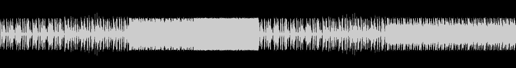 ドラムがきいたポップ調の未再生の波形