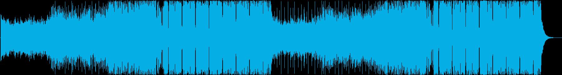 爽快なFuture Bassの再生済みの波形