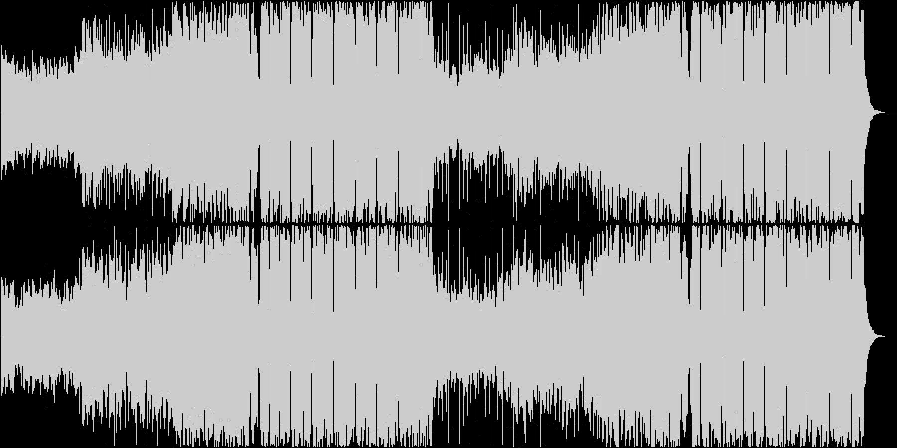 爽快なFuture Bassの未再生の波形