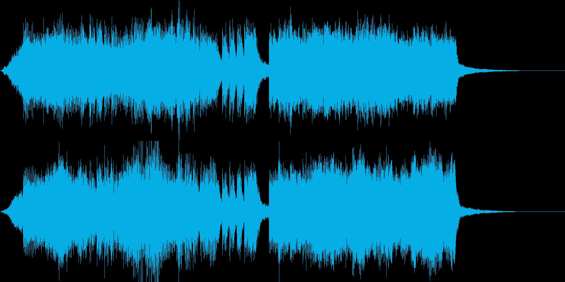 ジングル勝利のファンファーレ ritありの再生済みの波形