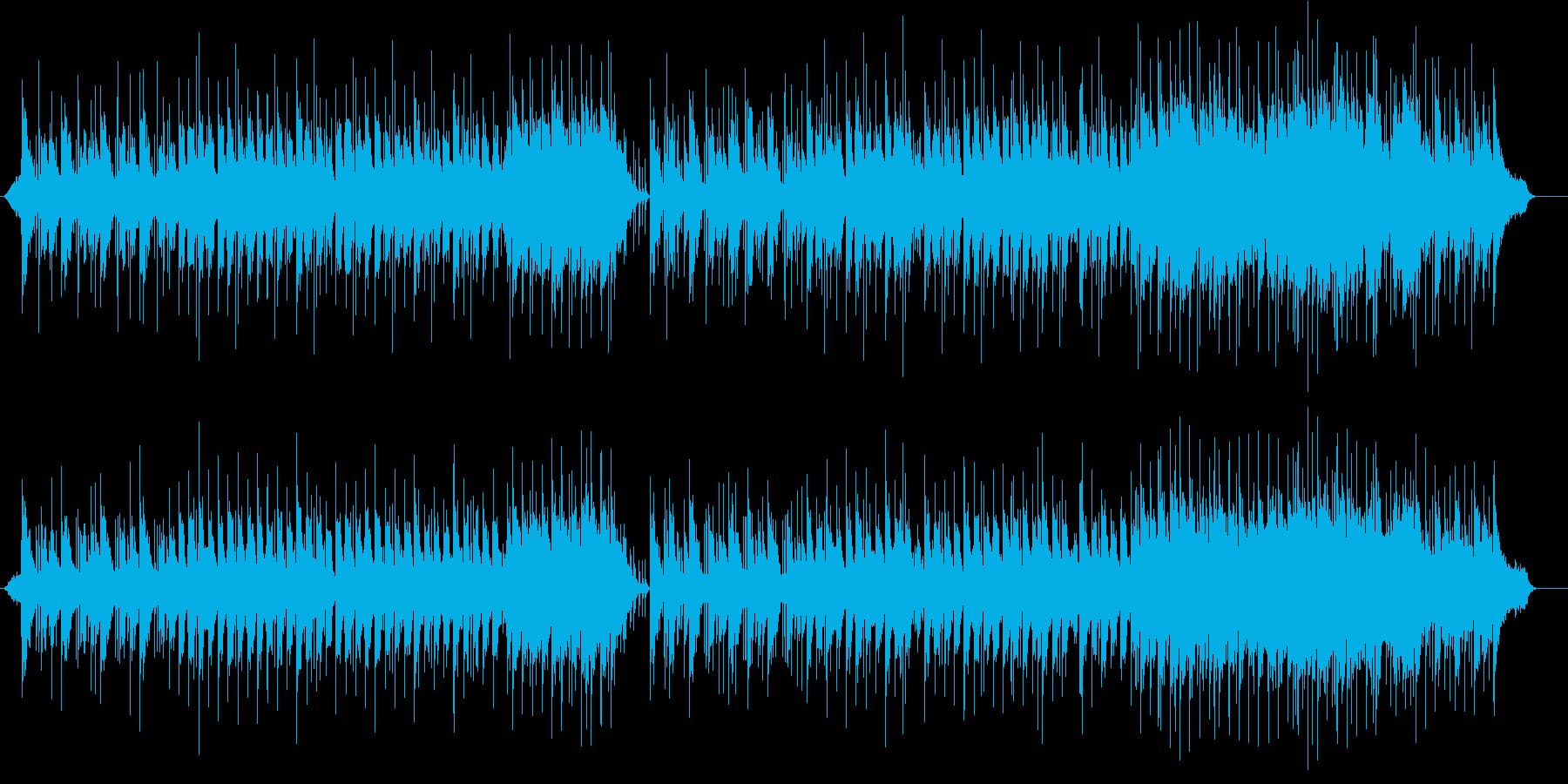 シルキーなコテンポラリー・バラードの再生済みの波形