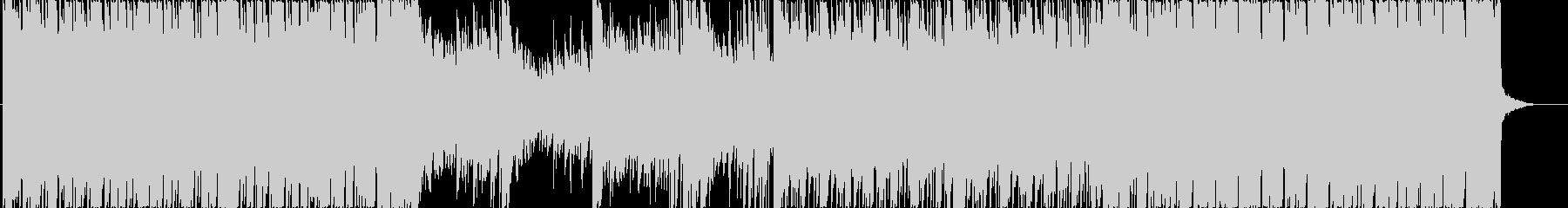 オリエンタルで神秘的なロックBGMの未再生の波形