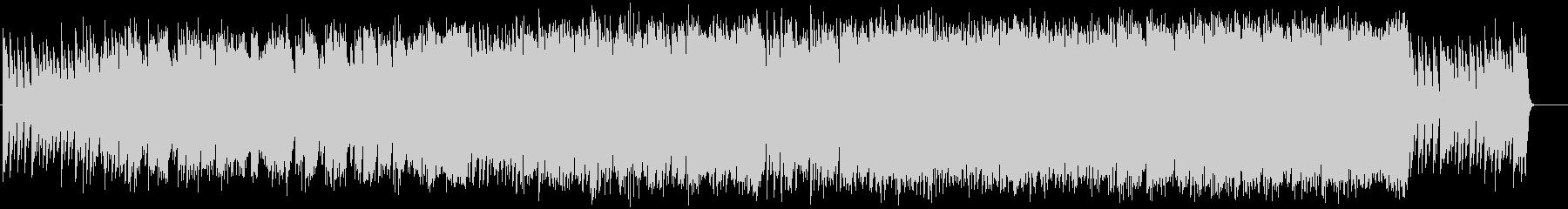 ピアノとオケの伝奇をイメージしたBGMの未再生の波形