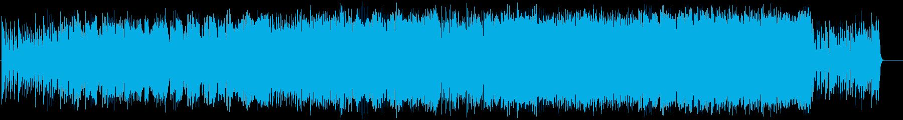 ピアノとオケの伝奇をイメージしたBGMの再生済みの波形
