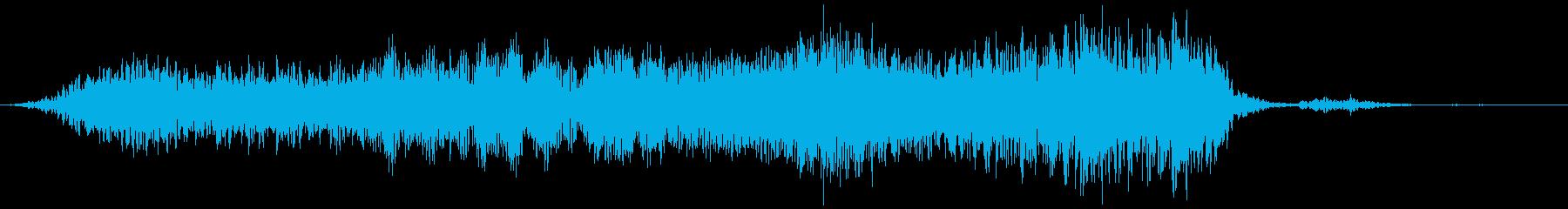 【物音】 ひきずる音_04 ギーッ・・・の再生済みの波形