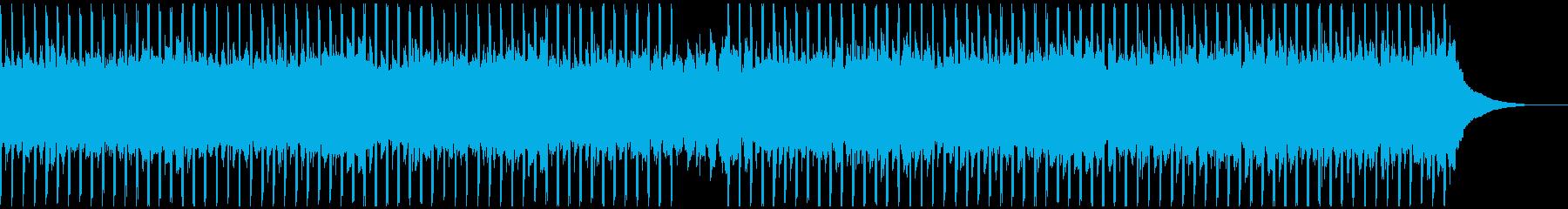 ポジティブ(中)の再生済みの波形