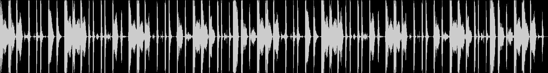 ボイスパーカッション・ビートボックス_2の未再生の波形