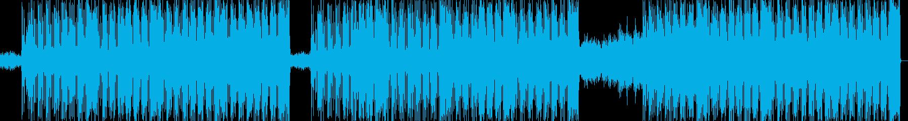 かっこいい積極的なR&Bビートの再生済みの波形