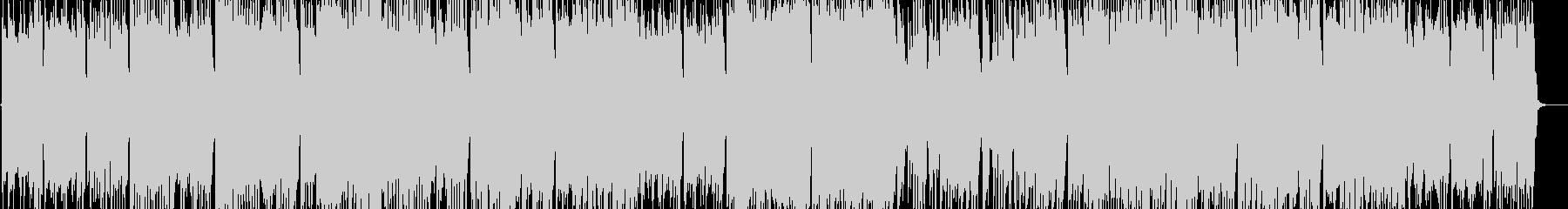 ロックな「いとまきのうた」(童謡カバー)の未再生の波形