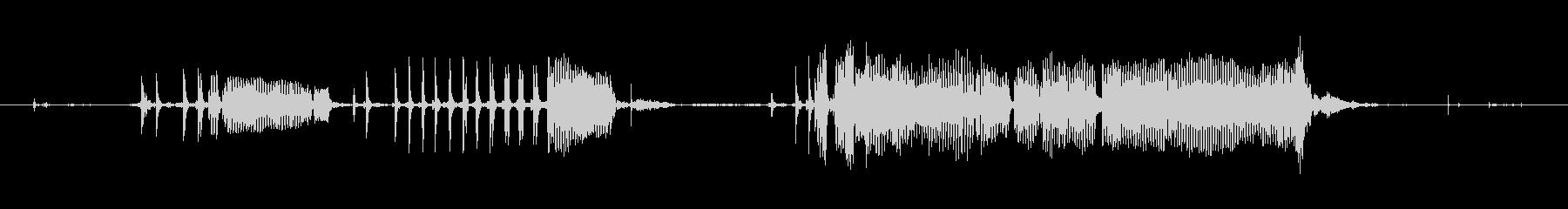 犬 チワワグロールスタッター04の未再生の波形