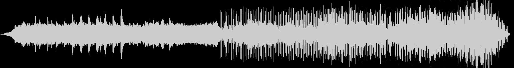 暗いアンビエント、実験的サウンドス...の未再生の波形