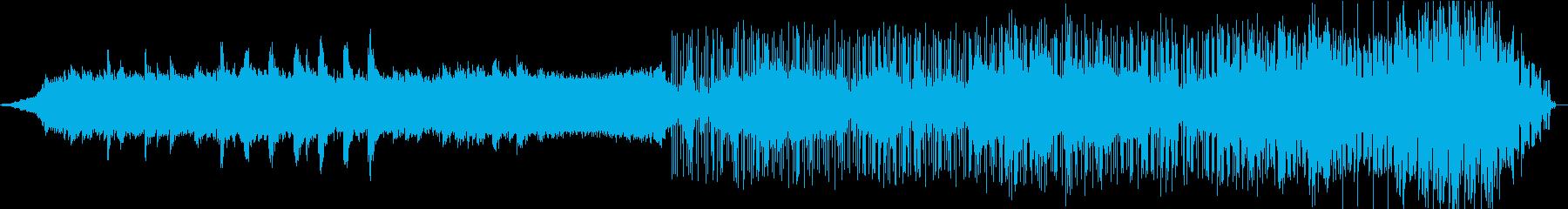 暗いアンビエント、実験的サウンドス...の再生済みの波形