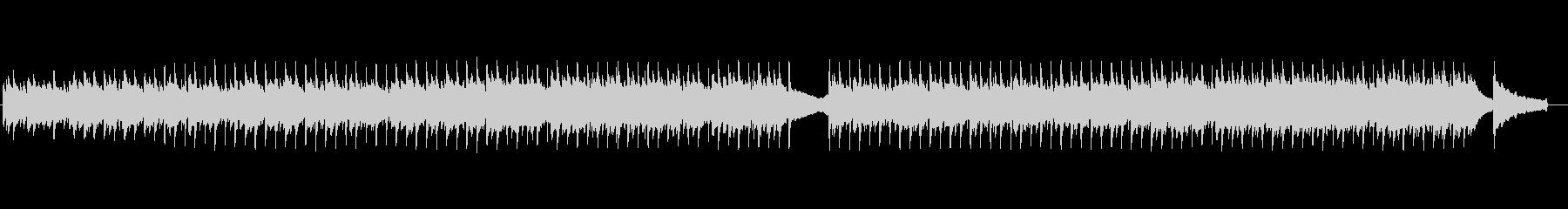 ソフトでオーガニックな雰囲気のアコギ曲の未再生の波形