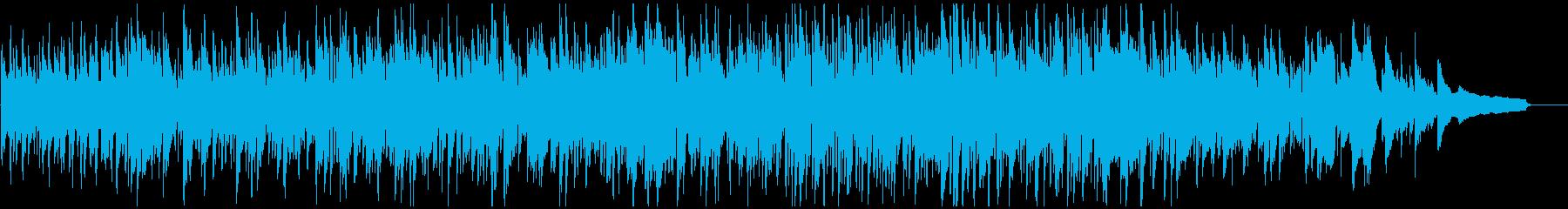 メロディアスで穏やかなボサノバ・ジャズの再生済みの波形
