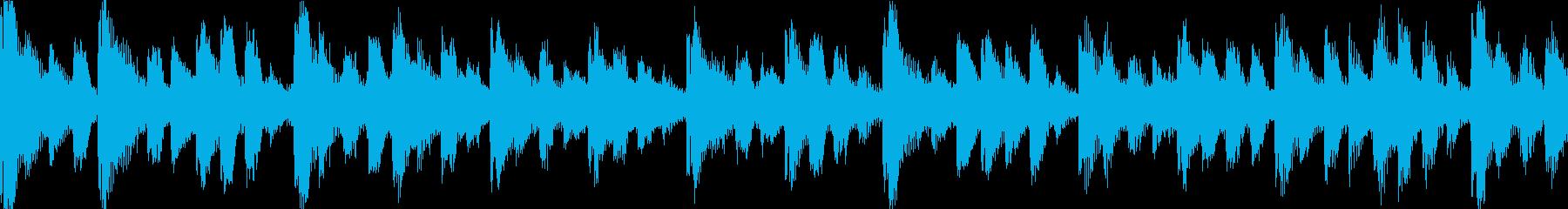 【ループF】かわいい感じのゆるやかテクノの再生済みの波形