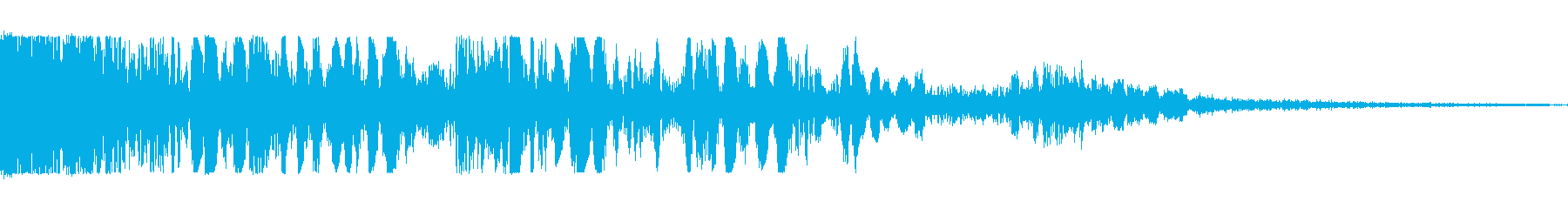 倒れる(ドサッ)の再生済みの波形